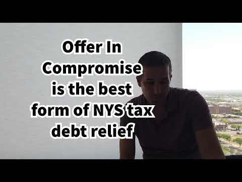 NYS Tax Debt Relief - Settling New York State Taxes