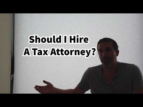 Should I Hire A Tax Attorney? Often No! Common Tax Relief Question Answered!