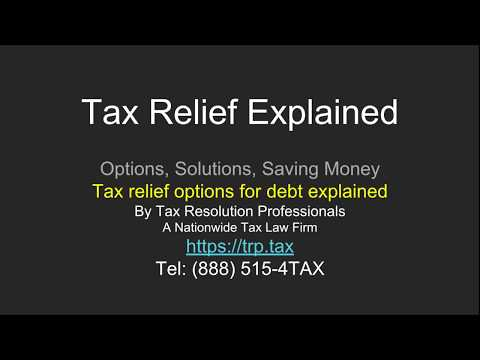 Tax Relief Explained: How Back Taxes Get Resolved