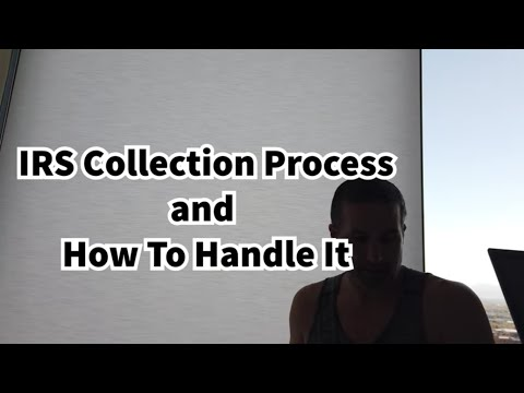 IRS Collection Process Guide and How To Handle It To Avoid Levies and Garnishments