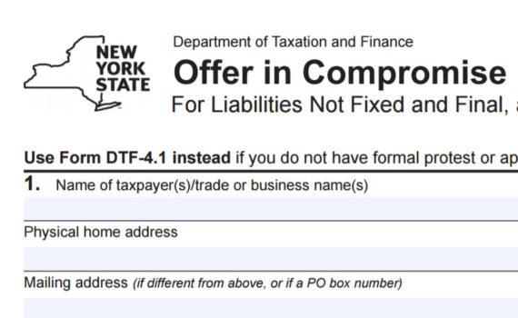 Form DTF 4