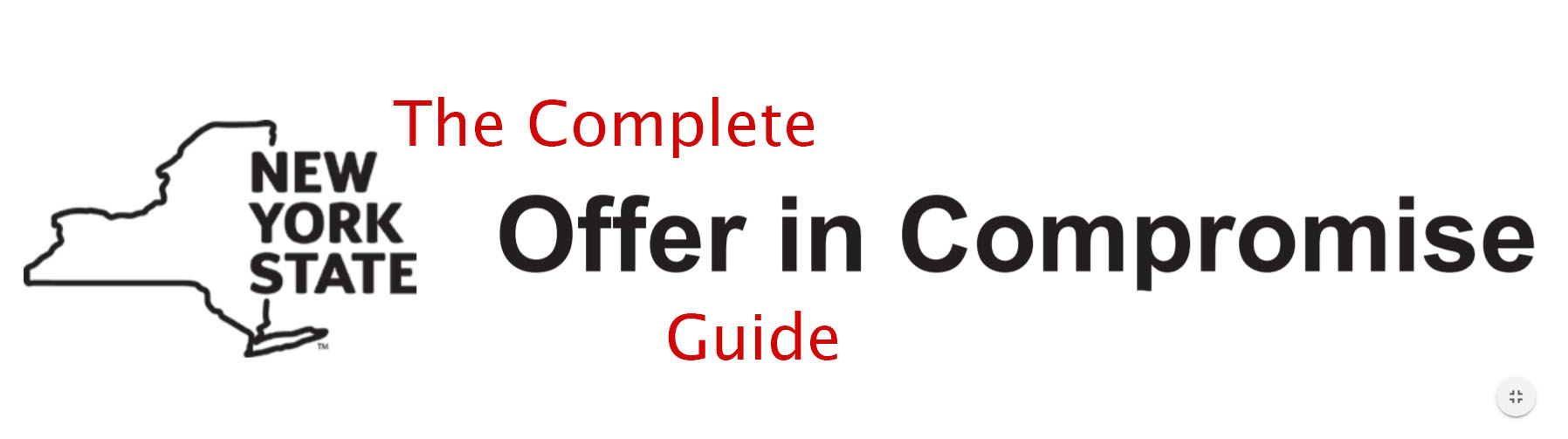 Nys offer in compromise the complete guide for individual debt falaconquin