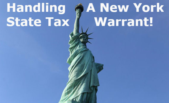 Handling A New York State Tax Warrant