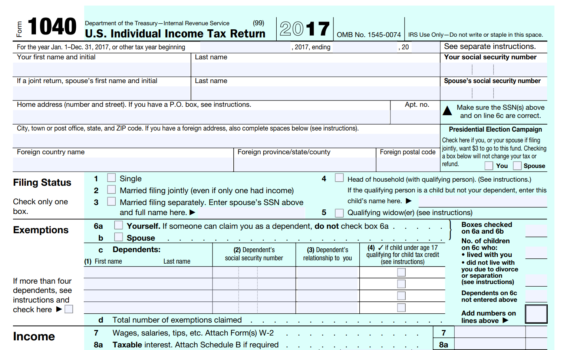 20 years unfiled tax returns