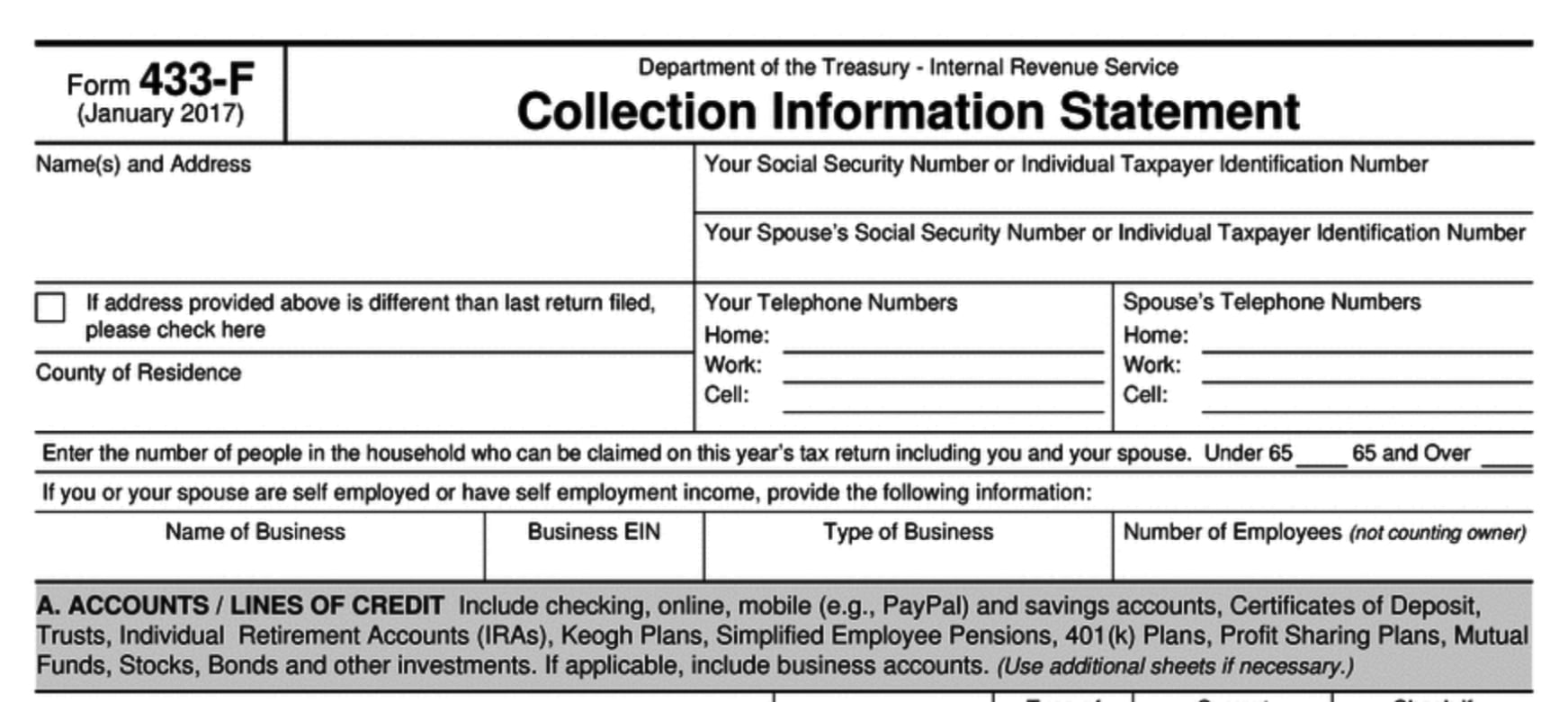 Currently Not Collectible Status For the IRS: What It Is, When and How to Get It