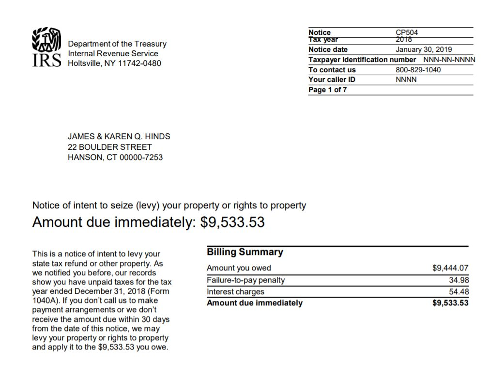 Letter Of Intent To Pay from trp.tax