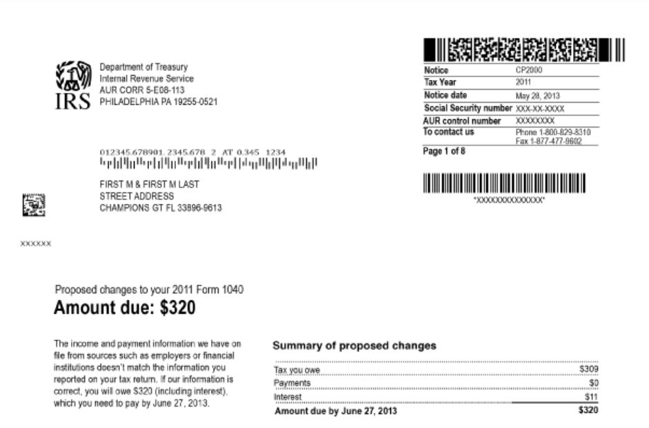 IRS CP 2000