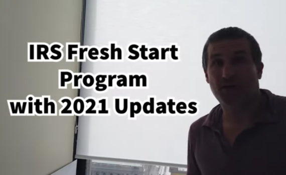irs fresh start program 2021