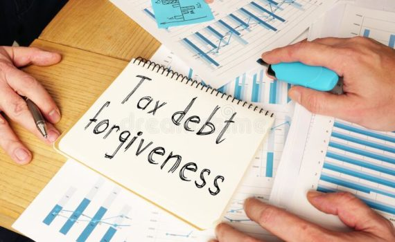 irs debt forgiveness